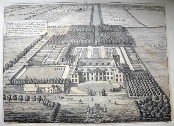Picture-of-Grimsthorpe-Castle-in-Britannia-Illustrata-by-Johannes-Kip