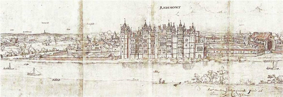 Richmond By Wyngaered 1562 © The National Archives