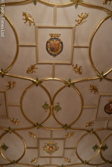 Roof Of Great Chamber Showing Howard Arms © Tudor Times Ltd 2016