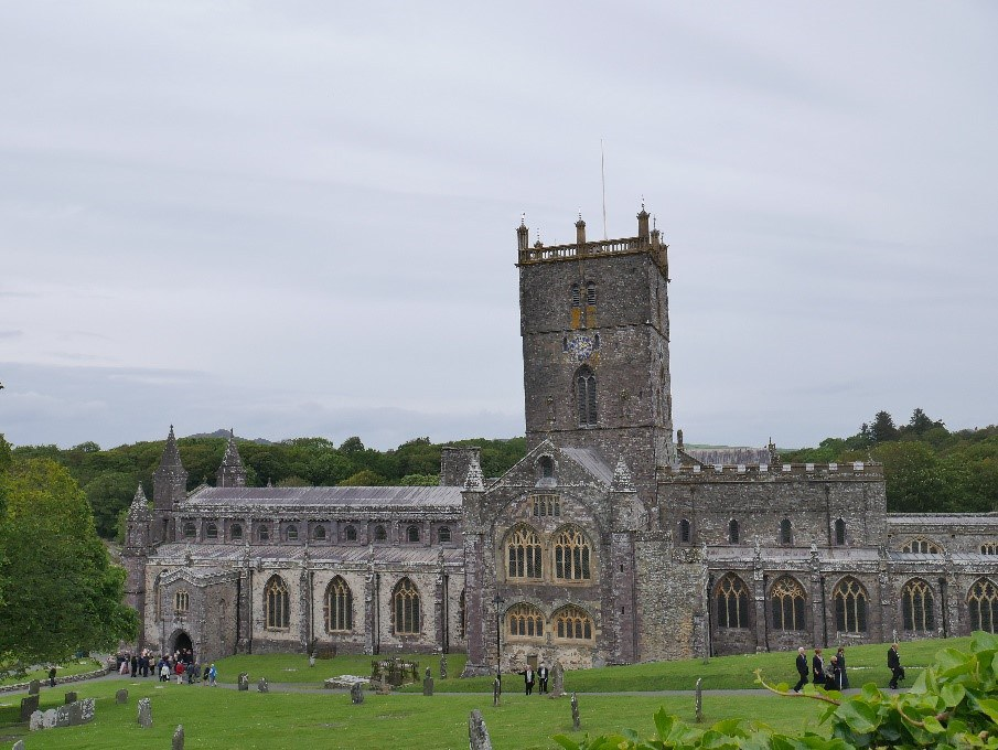 St David'S Cathedral South Face © Tudor Times Ltd 2019