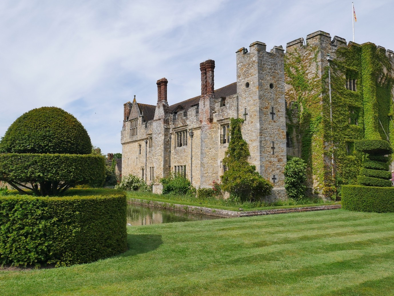 The West Range Of Hever Castle © Tudor Times Ltd 2019
