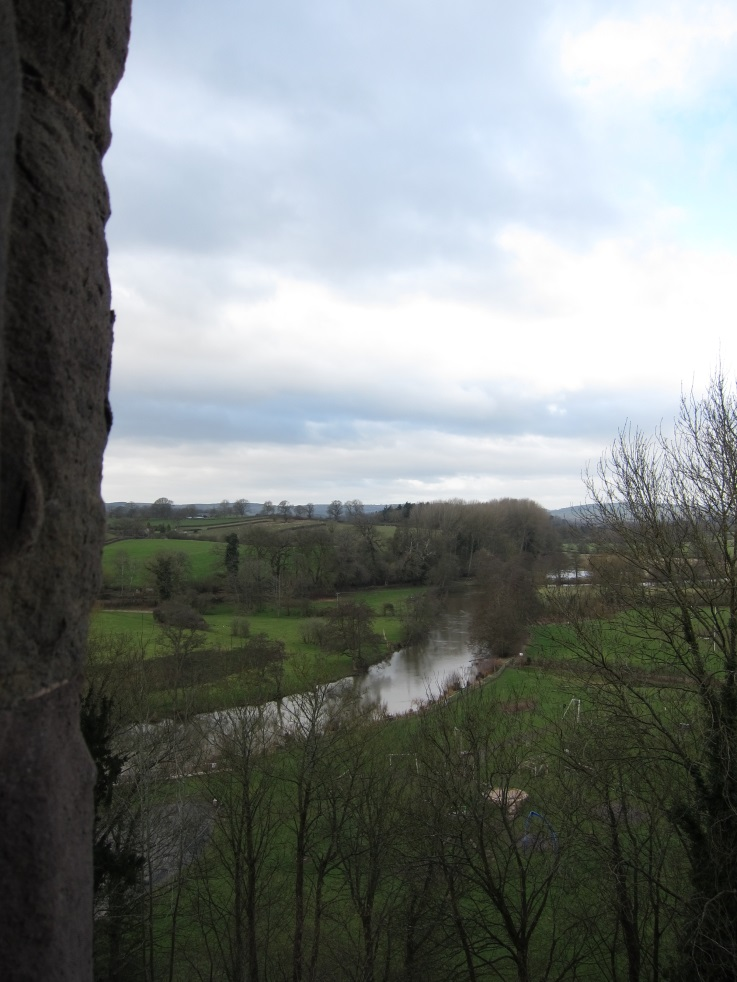 View-over-the-River-Teme-that-Duchess-Cicely-would-have-seen-in-1459-Tudor-Times-2015