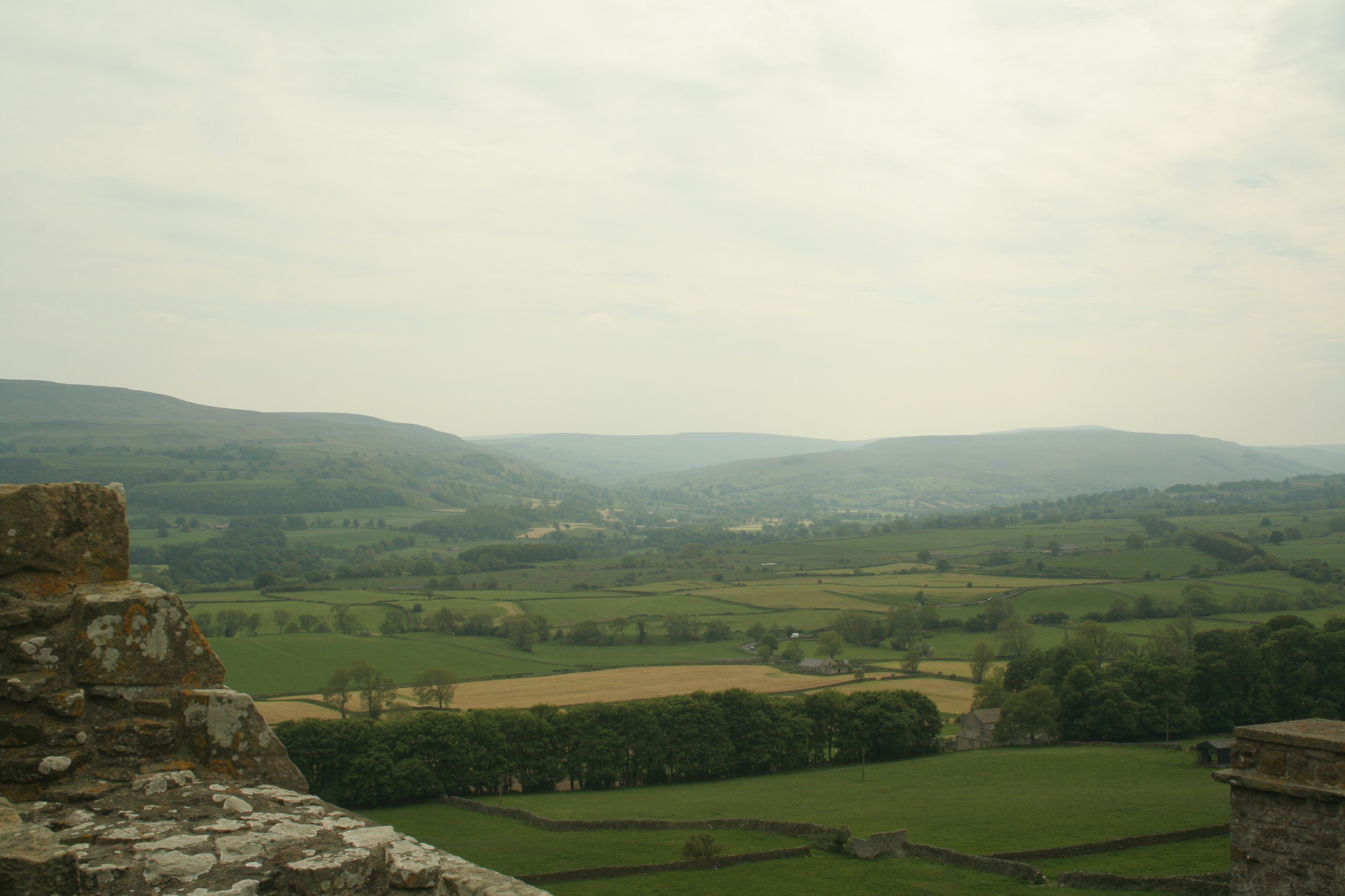 View-south-west-from-the-battlements-of-Bolton-Castle-across-Wensleydale-©-Tudor-Times-2015
