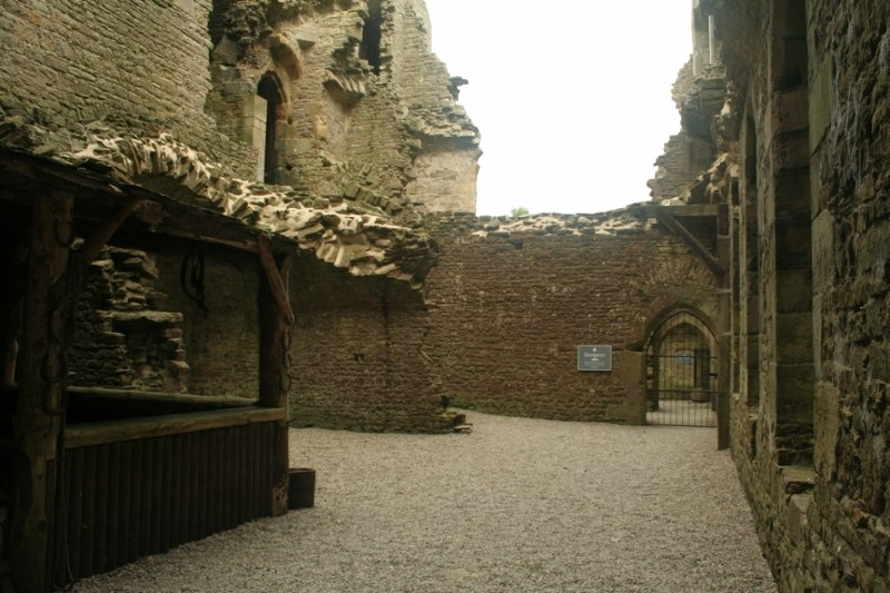 Well-house-dungeons-smithy-etc-in-the-north-curtain-of-Bolton-Castle-©-Tudor-Times-2015