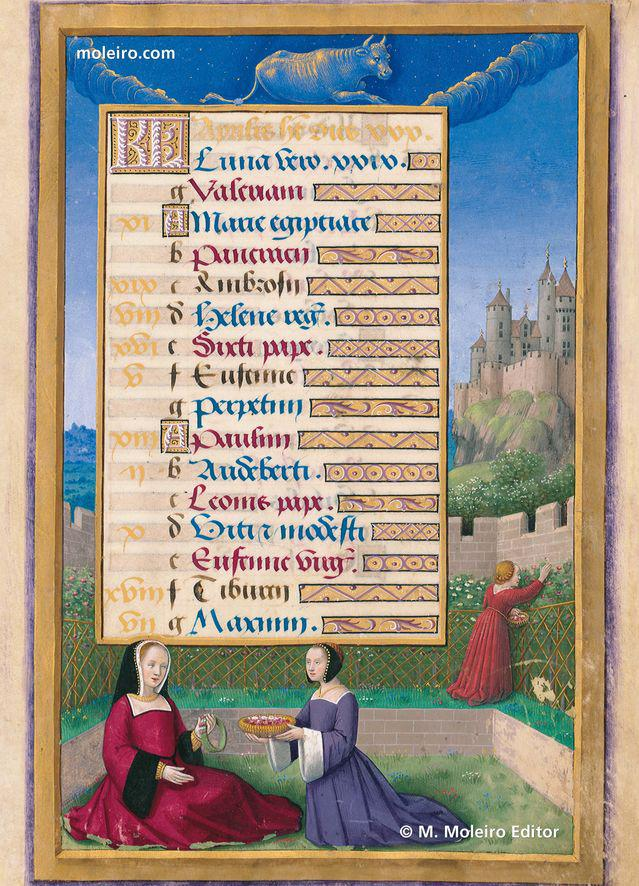 Anne Of Brittany Book Of Hours M  Moleiro Editor